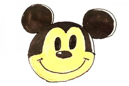 儿童轻松学画米老鼠