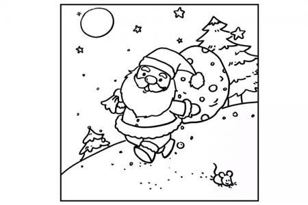 圣诞儿童画