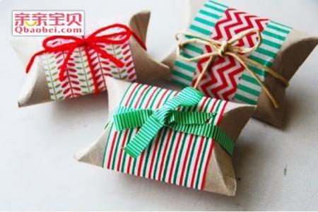 简单新年礼物盒