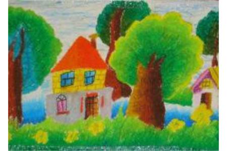 植树节儿童画图片-植树节的由来