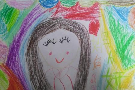 祝亲爱的妈妈节日快乐三八妇女节绘画作品大全