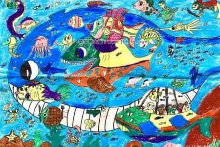 奇妙的海底世界《记忆中的海底世界》