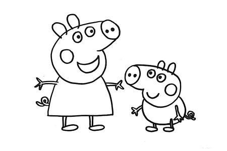 小猪佩奇和弟弟乔治