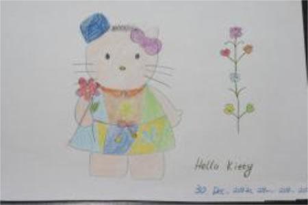 儿童漫画 我是爱美的kitty