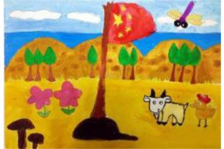 有意义的国庆假期,国庆节主题儿童画分享