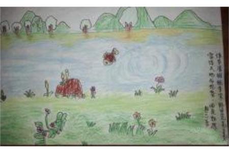 清明节儿童画 清明佳节