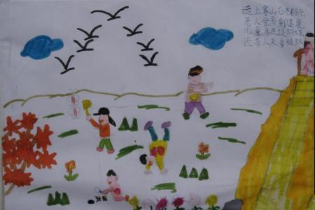重阳节的习俗儿童画-重阳节诗句