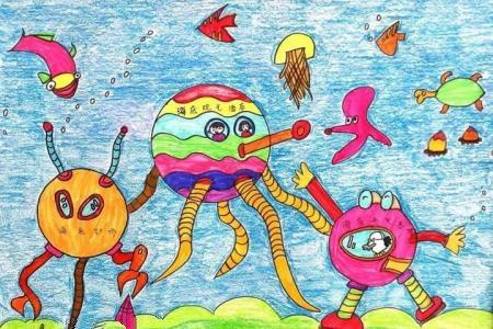 奇妙的海底世界 神秘的海底世界