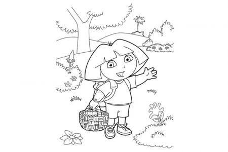 爱冒险的朵拉简笔画图片