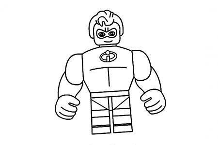 超能先生的画法步骤图