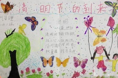 清明到了清明节小学生绘画图片欣赏
