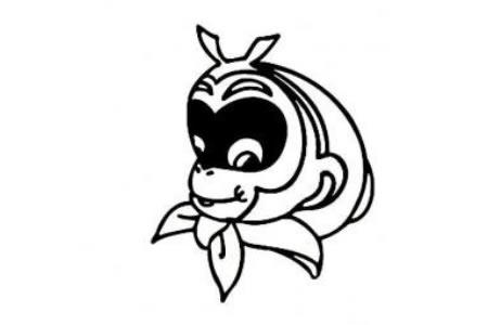 关于孙悟空的简笔画图片