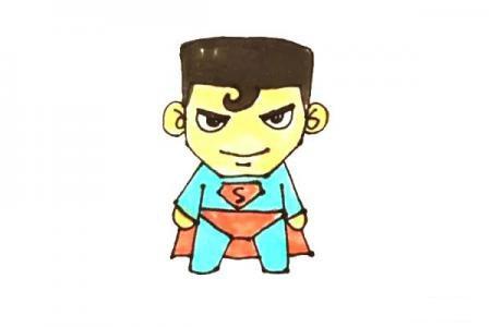 超人怎么画