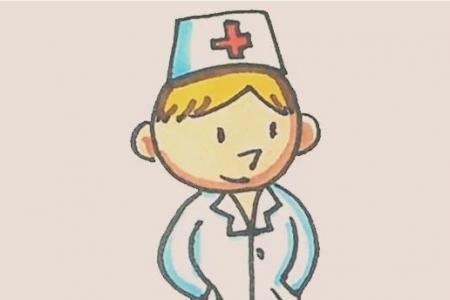 简笔画之医生