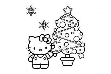 凯蒂猫过圣诞节