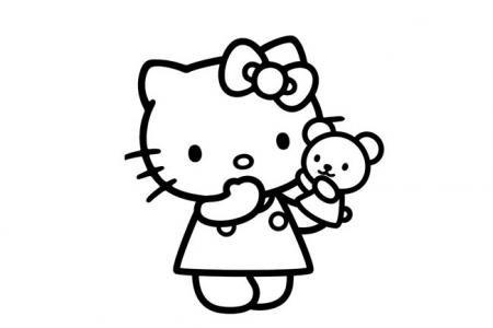 简单可爱的Kitty猫
