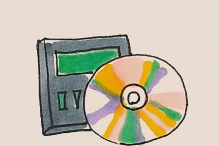 简笔画之CD