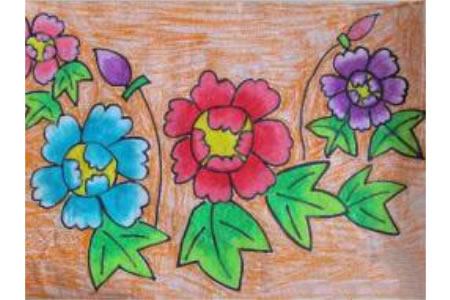 春天的红花