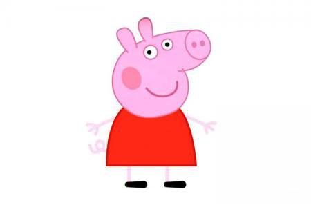 简单7步画小猪佩奇