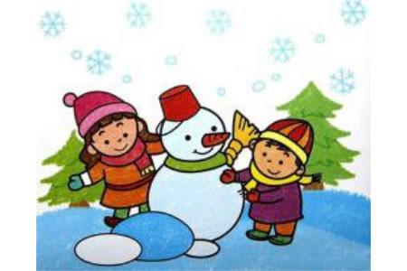 堆个雪人过圣诞