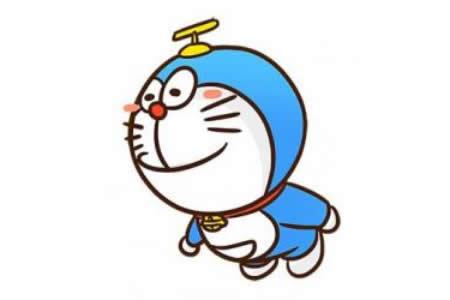 关于哆啦A梦的简笔画画法