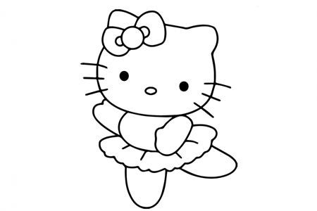 kitty猫跳芭蕾