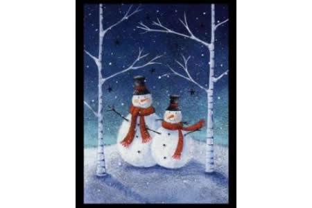 雪人兄弟国外水彩画作品在线看