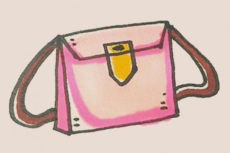 简笔画之皮包