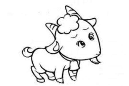 委屈的小羊