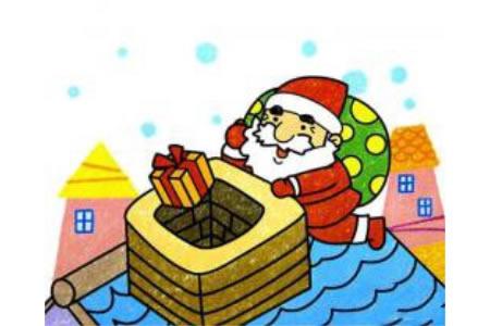 圣诞老人来送礼