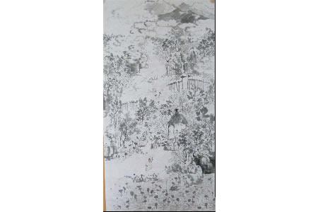 重阳节登高,关于九九重阳节儿童画作品