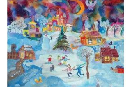 下雪的圣诞夜