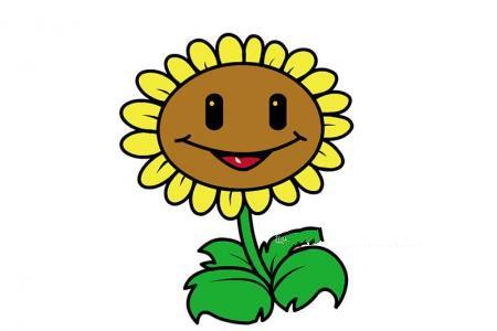 植物大战僵尸中的向日葵