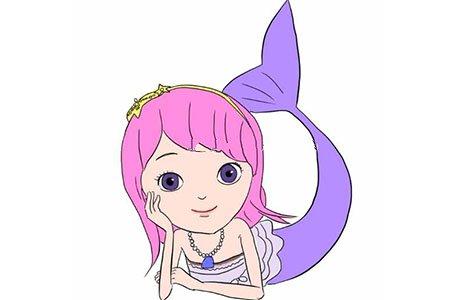 可爱的美人鱼公主