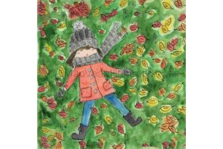 美丽秋天图画儿童画之欣赏秋天