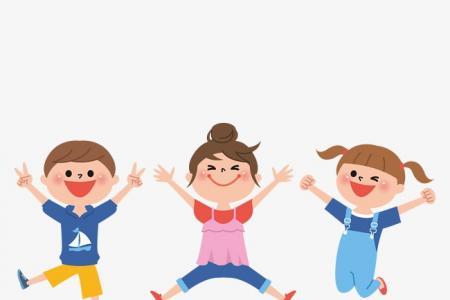 6.1儿童节多彩卡通手绘熊孩子