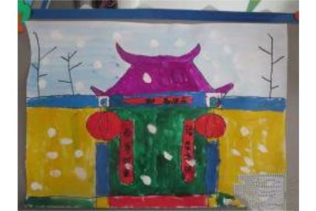 儿童画新春大吉