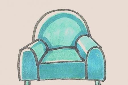 简笔画之沙发