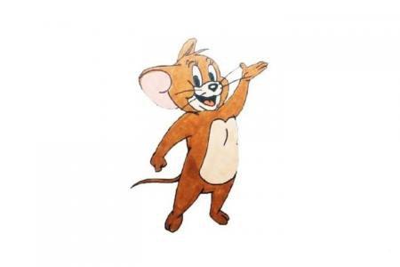 猫和老鼠中的小老鼠杰瑞怎么画