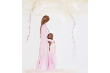 美好的时光三八妇女节绘画作品欣赏