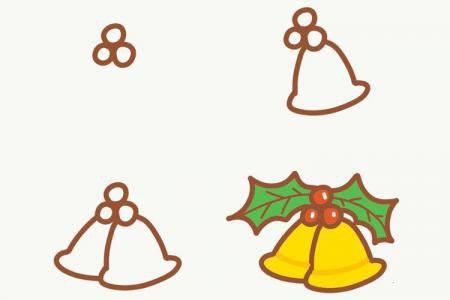 圣诞节素材简笔画