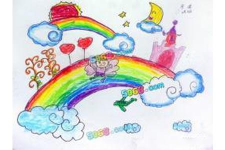 国庆节儿童画图片-欢乐过国庆