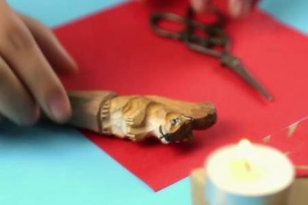 儿童简单剪纸图解花 简单实用的剪窗花技法,让你一学就会