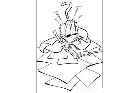 唐老鸭做作业