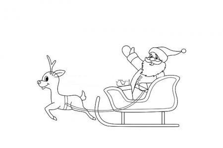 圣诞老人去送礼