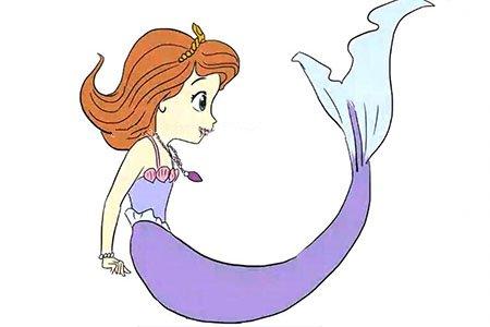 美人鱼小公主苏菲亚