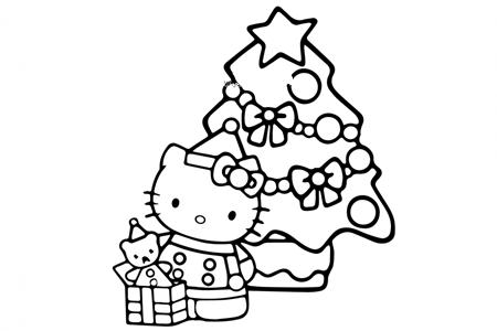 kitty猫的圣诞节