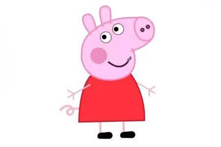 简单六步画出可爱的小猪佩奇