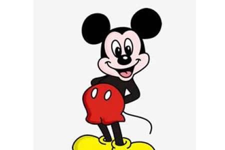 简笔画教程大全 米老鼠简笔画画法