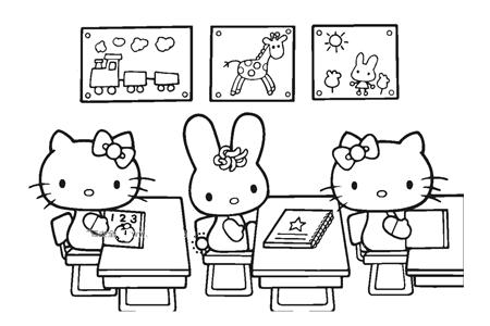 kitty猫上课